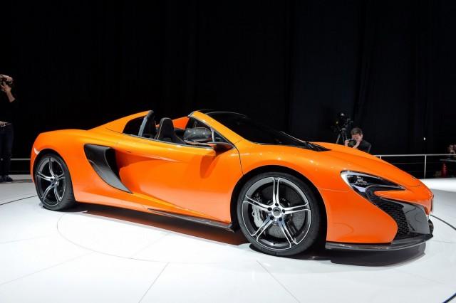 Автосалон Женева макларен