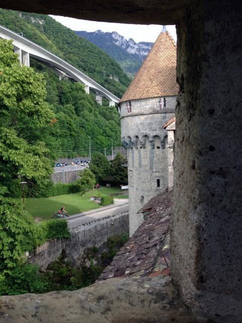 Шильонский замок башня
