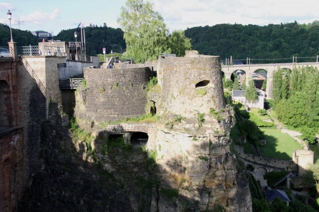 Люксембург Казематы Бок
