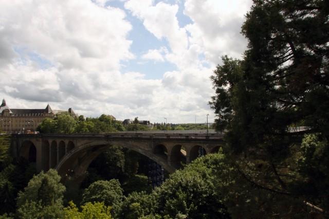 Люксембург мост Адольфа