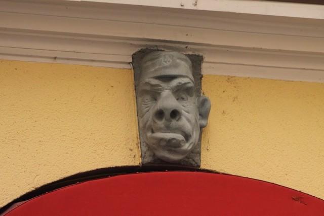 скульптуры на домах, Люцерн