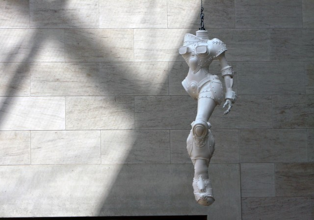 MUDAM скульптура