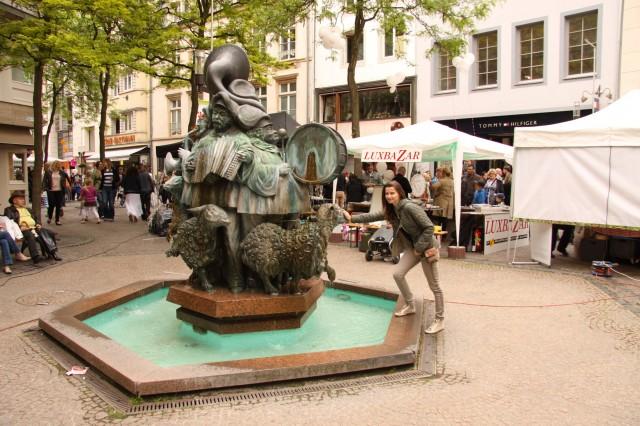 фонтан Люксембург