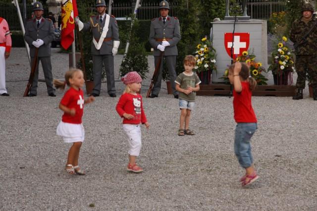 1 августа в Швейцарии