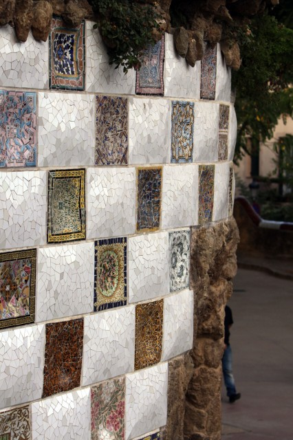 мозаика парк Гуэль